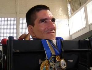 RN - Josivan Peixoto Escorpião Bocha Paralímpica (Foto: Reprodução/Inter TV Cabugi)