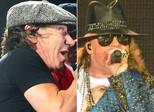 Brian Johnson descarta se aposentar, mesmo com Axl Rose no AC/DC