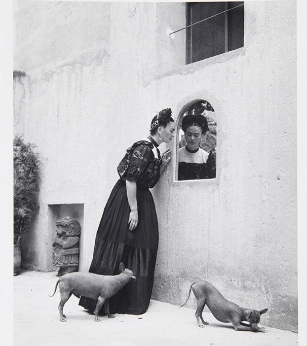 Uma das imagens de Frida, feita por Lola Ávarez (Foto: divulgação)