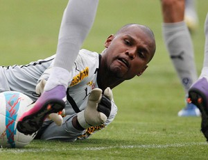 Jefferson treino Botafogo (Foto: Wagner Meier/AGIF)