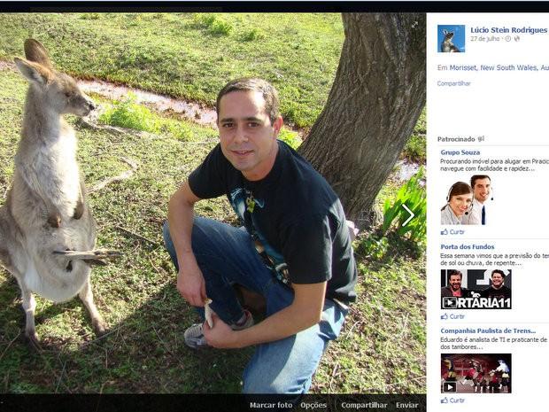 Brasileiro agredido na Austrália é de Capivari (Foto: Reprodução Facebook)
