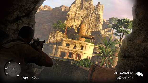 'Sniper Elite III' leva ação de atirador de elite para a África (Foto: Divulgação/Rebellion)