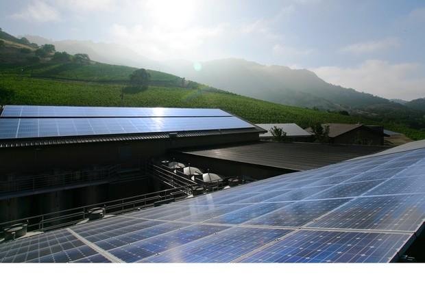 Energia solar (Foto: GE)