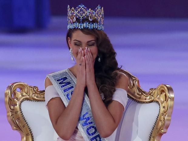 Rolene Strauss, de 22 anos, venceu a competição de beleza. (Foto: AP Photo/Alastair Grant)