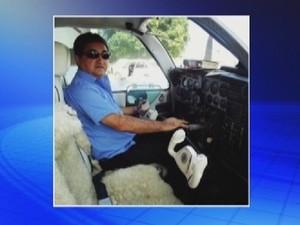 Piloto Luiz Francisco Feltrin (Foto: Reprodução/TV TEM)