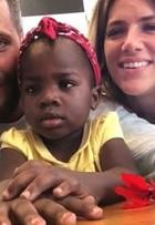 Giovanna Ewbank fala sobre cuidados com o cabelo da filha, Titi