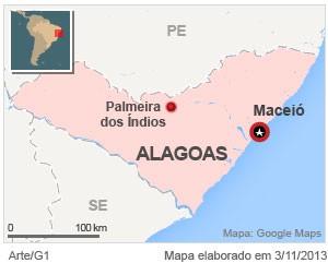 VALE ESTE - Blog 'Caminhos do Brasil' vai a Palmeira dos Índios (AL)