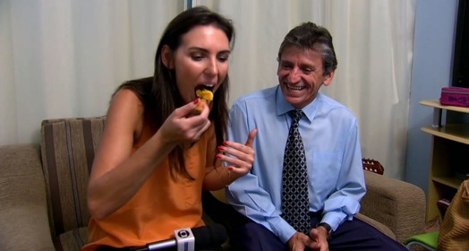 bolo de milho (reprodução Tv Globo)
