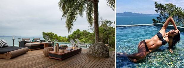 Casa de Fernanda Motta em Florianópolis é um perfeito refúgio de praia (Foto: Reprodução Instagram)