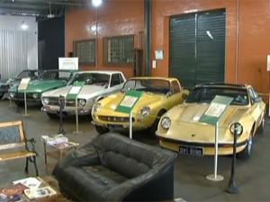 Museu tem acervo de 50 carros (Foto: Reprodução/DFTV)