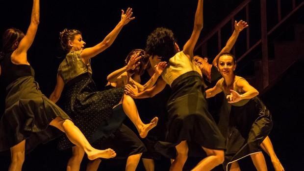 A montagem, que estreou em julho de 2013, também fez parte das comemorações dos 14 anos de atividades da companhia de dança (Foto: Divulgação)
