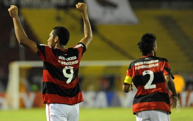 Hernane gol Flamengo x Remo (Foto: Alexandre Vidal / Flaimagem)