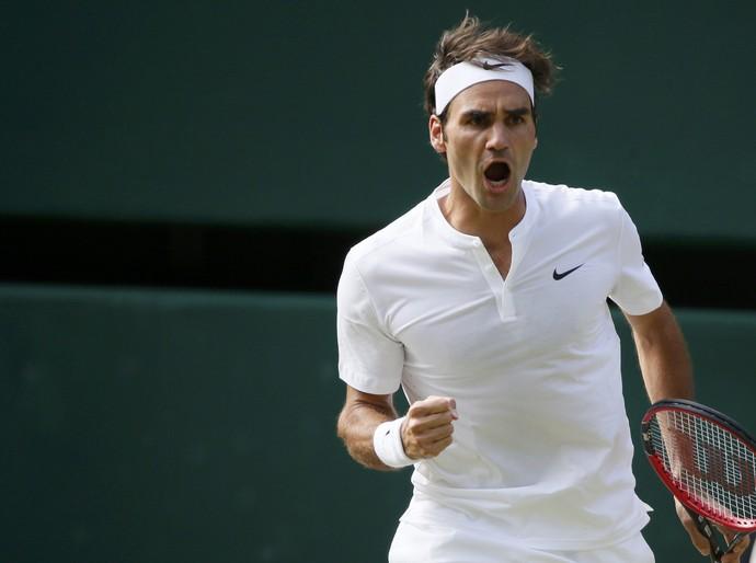 Federer x Murray - Wimbledon (Foto: Reuters)