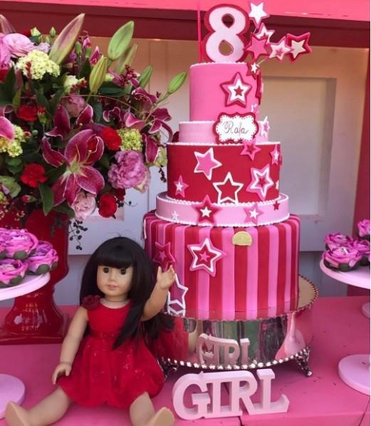 O bolo de Rafinha (Foto: Reprodução Instagram)