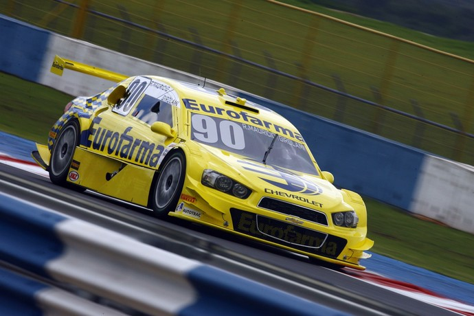 O argentino Nestor Bebu Girolami, convidado de Ricardo Maurício, foi o mais rápido do dia (Foto: Vanderley Soares / Divulgação)