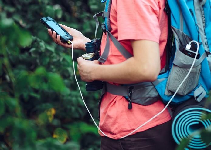 Ideal para viagens, GeeFi é carregador de 5.000 mAh (Foto: Divulgação/GeeFi)