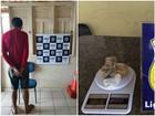 Homem é preso com 200g de maconha (Divulgação/PRF-AC)