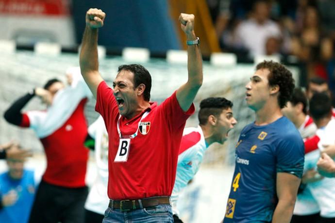 Brasil Egito Handebol Júnior Mundial (Foto: IHF / International Handball Federation)