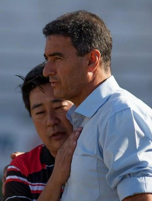 Paulo Cezar Catanoce junto com Sérgio Tanaka (Foto: Thiago Calil/ Assessoria BFC)