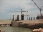 Ministro de Minas e Energia visita construção de hidrelétrica em MT