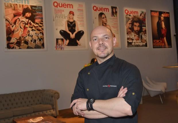 O chef Henrique Morbidelli (Foto: Marcos Rosa/Ed. Globo)