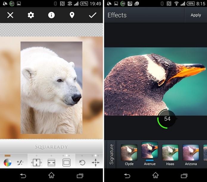 Squaredy coloca imagens em formato original para o Instagram (Foto: Divulgação)