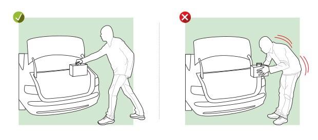Carregar o bagageiro (Foto: Editora Globo)