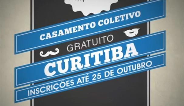 Justiça no Bairro promove casamento coletivo (Foto: Reprodução/RPC TV)
