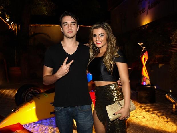 Olin Batista e Babi Rossi em evento em São Paulo (Foto: Manuela Scarpa/ Foto Rio News)
