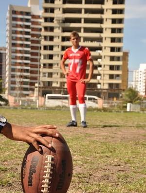Time quer a popularidade dos gramados para o futebol americano (Foto: Divulgação/Bravos)