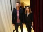 Cássio Reis e Fernanda Vasconcellos prestigiam show de Dado Villa-Lobos