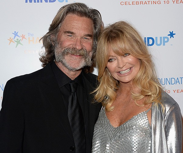 Goldie Hawn e Kurt Russell (Foto: Getty Images)