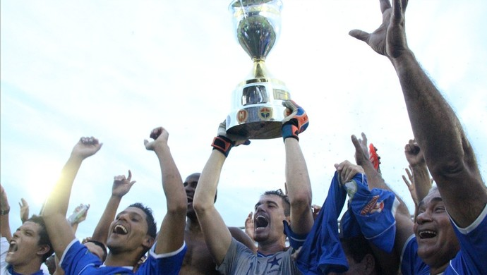 Nacional campeão amazonense 2014 (Foto: Isabella Pina)