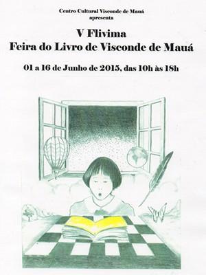 5ª Feira do Livro de Visconde de Mauá (Foto: Divulgação/Centro Cultural Visconde de Mauá)