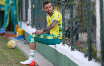 """Leandro vê clima familiar como trunfo do Palmeiras: """"Não é balela"""""""