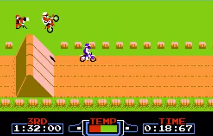 Excitebike (NES) (Foto: Reprodução)
