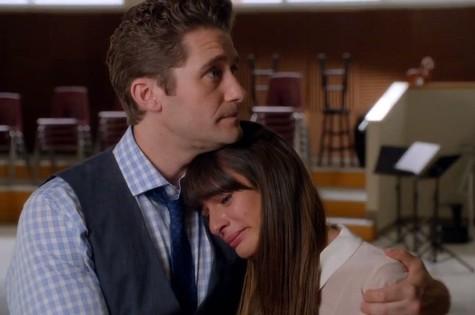 Cena de 'Glee', episódio 'The quarterback': despedida de Cory Monteith (Foto: Reprodução da internet)