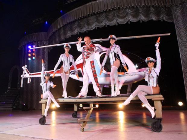 Circo Tihany Spetacular começa temporada de apresentações em Campinas  (Foto: Circo Tihany Spetacular)