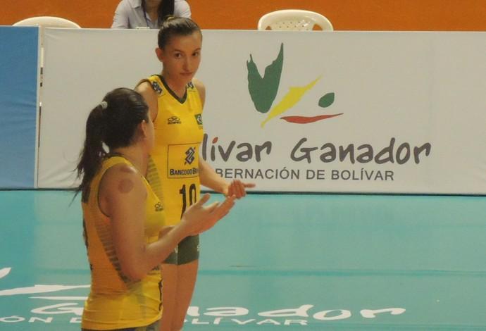 Gabi Natália Brasil vôlei Sul-Americano (Foto: Fabio Leme)