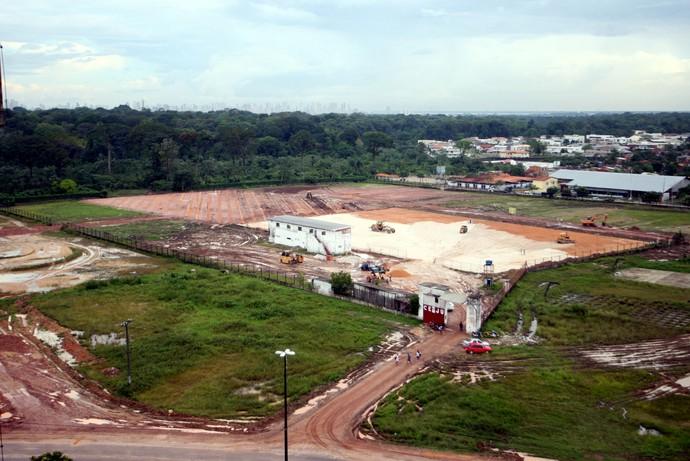 Reforma do Ceju, anexo ao Mangueirão (Foto: Everaldo Nascimento/O Liberal)
