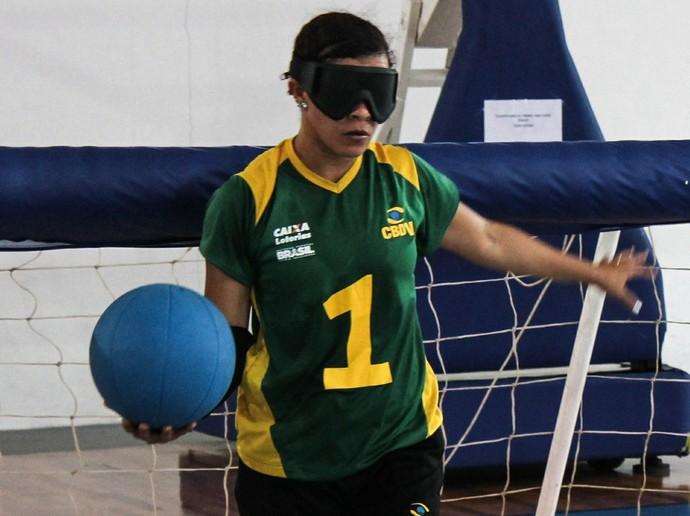 Neusimar Santos, capixaba do goalball (Foto: Arquivo/A Gazeta)