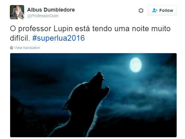 meme superlua 4 (Foto: Reprodução/Twitter)