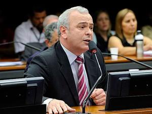 O deputado Julio Delgado durante sessão da CPI da Petrobras em agosto (Foto: Luis Macedo / Câmara dos Deputados)