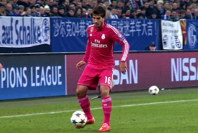lucas silva Schalke x real madrid (Foto: Cassio Barco)