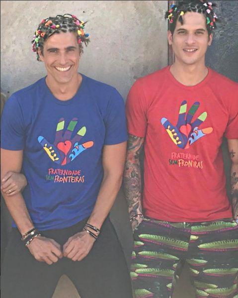 Reynaldo Gianecchini e Diego Fragoso (Foto: Reprodução/Instagram)