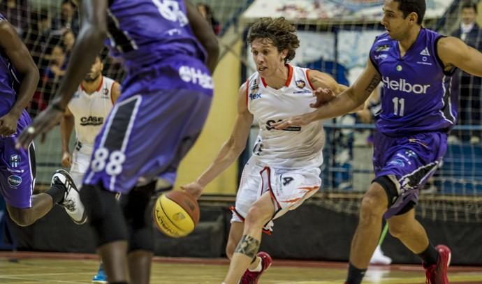 Liga Sorocabana x Mogi das Cruzes, Paulista de basquete (Foto: Murilo Amadei / LSB)