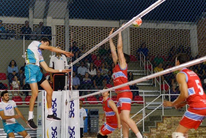 Sesc-RJ x Universo, Carioca de vôlei masculino (Foto: Erbs Jr)