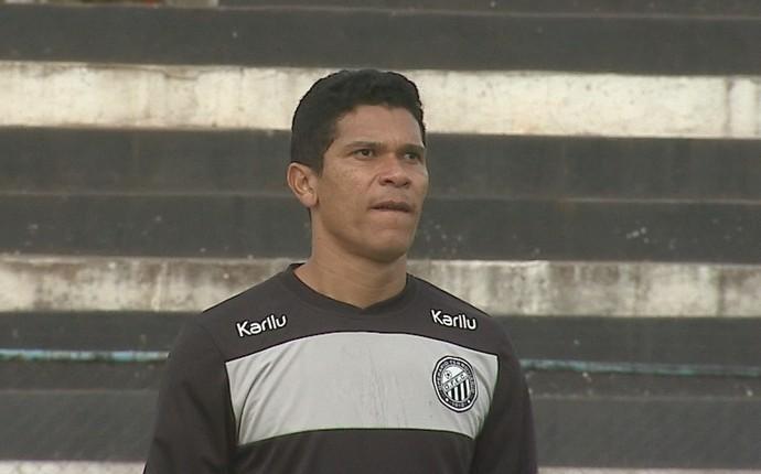 Goleiro Paulo Sérgio Operário-PR (Foto: Reprodução/RPC)