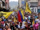 Oposição venezuelana realiza novos protestos contra Maduro
