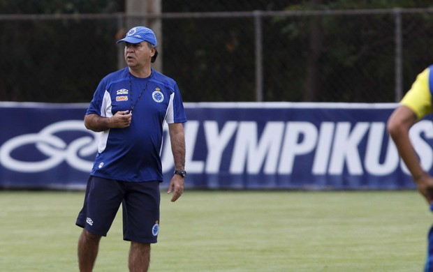Marcelo Oliveira; Cruzeiro; Toca da Raposa II; treino (Foto: Washington Alves / Vipcomm)